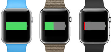 Apple zlepšil výdrž baterie v Apple Watch