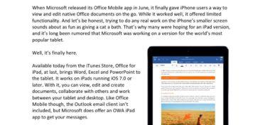 Microsoft se zaměřil na iOS
