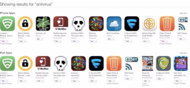 Apple odstraňuje antiviry z App Store