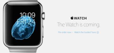 Apple ze svého webu odstranil datum vydání Apple Watch