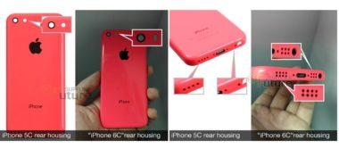 Fotografie telefonu iPhone 6C