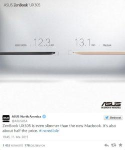 Nový MacBook je terčem
