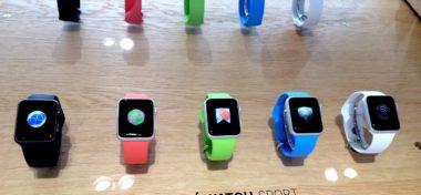 Watch App Store již obsahuje první 4 aplikace!